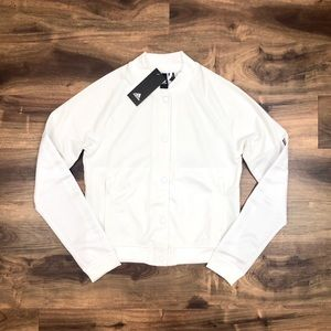 Women's Adidas Semi-Cropped  Snap Jacket